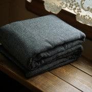 Wool Blankets, 100% Wool Blankets, 100 Percent Wool Blankets, Charcoal Wool Blankets