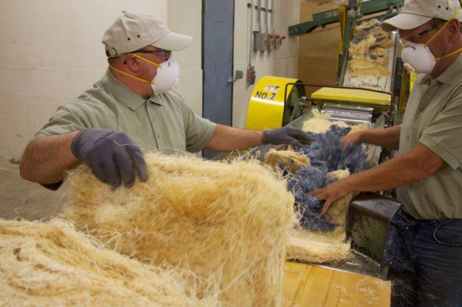 Miller Waste Mills Recycled Fibers