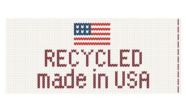 USA Knit Tag