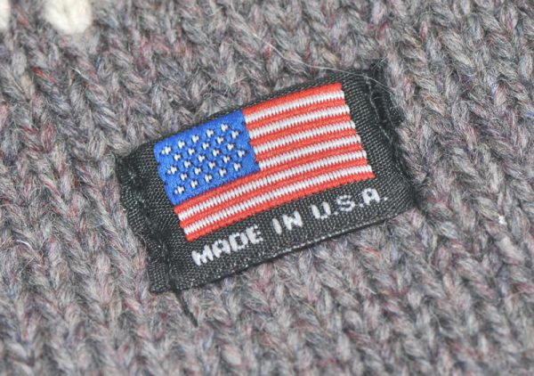 Llama Lo Made in the USA Flag Detail