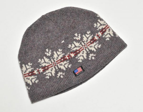Llama Lo Wool Hat with Made in the USA Flag Detail