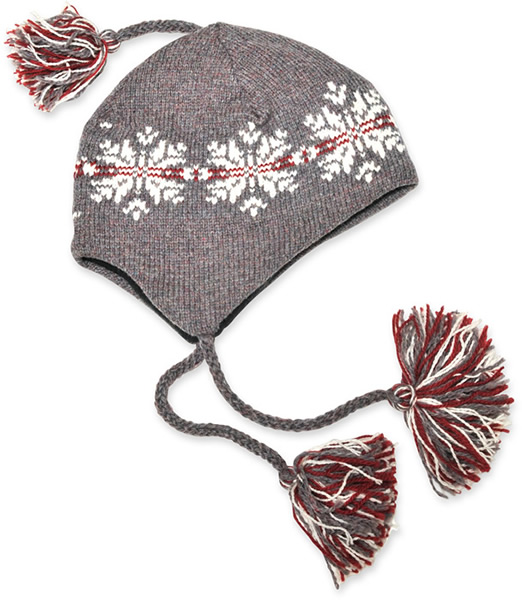 Llama Lo Wool Hat with Flaps