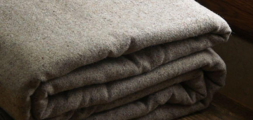 Llama Lo Wool Blanket